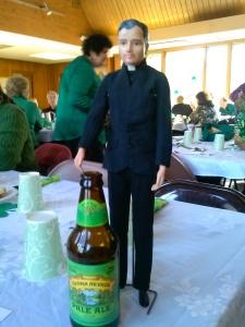 Even a green beer, sort of….