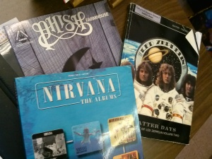 Nirvana, yay!  Led Zep, sure, I'll take it!  Phish, no thanks.