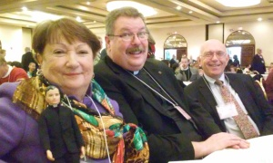Delegates from Emmanuel and St. Mark's