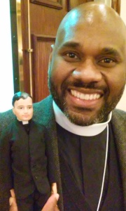 Archdeacon Hickman, certainly a VIP.