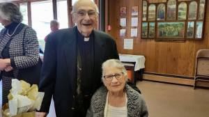 Fr. Domenic and Annette