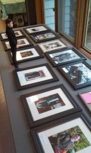 Fr. Kenny surveys our excellent frame-work.