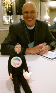 Rev. Michael meets Kenny for the first time.  Let your light so shine Kenny!
